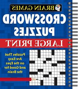 Brain Games Crossword Puzzles Large Print )