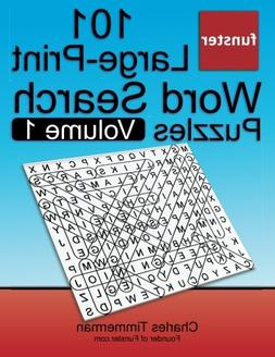 Funster 101 Large-Print Word Search Puzzles, Volume 1: Hours