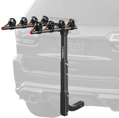 4 bike rack bicycle carrier hitch receiver