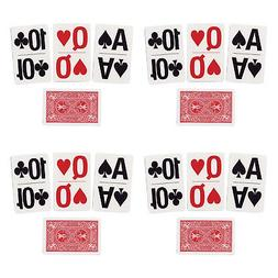 NEW BICYCLE USPCC LARGE PRINT PLAYING CARDS, BRIDGE SIZE