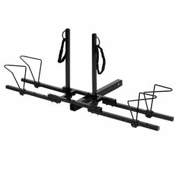 """Upright 2 Mountain Bike Rack Hitch Carrier 2"""" Rear for SUV V"""